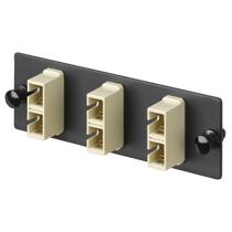 Panneau Adaptateur fibre - 6 adaptateurs SC Duplex Multimode